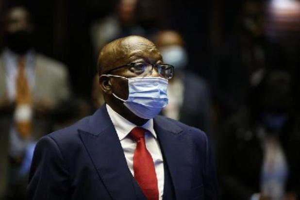 Voormalige Zuid-Afrikaanse president Zuma pleit onschuldig in corruptiezaak