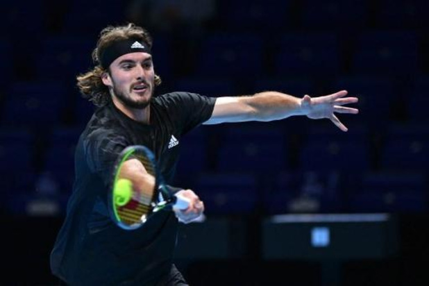 ATP Finals - Titelverdediger Tsitsipas redt matchpunt tegen Rublev, Dominic Thiem stoot door