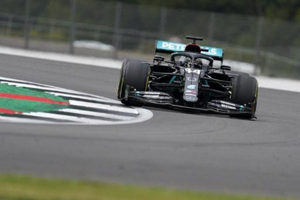 Lewis Hamilton le plus rapide lors de la deuxième séance d'essais libres