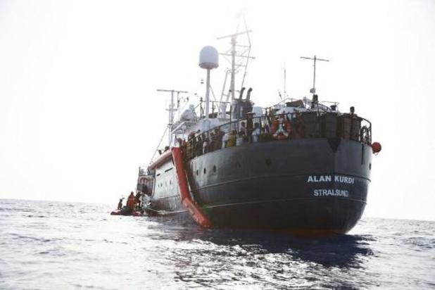 Un navire humanitaire allemand sauve 32 migrants en Méditerranée