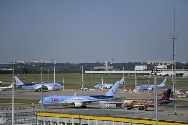 Deux pistes du Brussels Airport provisoirement fermées