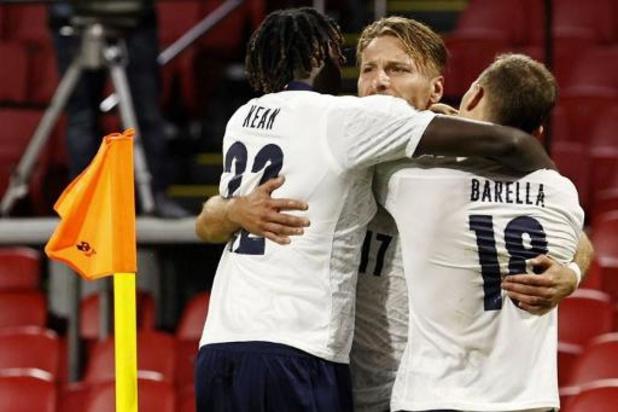 Ligue des Nations - L'Italie et la Pologne gagnent aux Pays-Bes et en Bosnie, les Azzurri en tête du groupe 1
