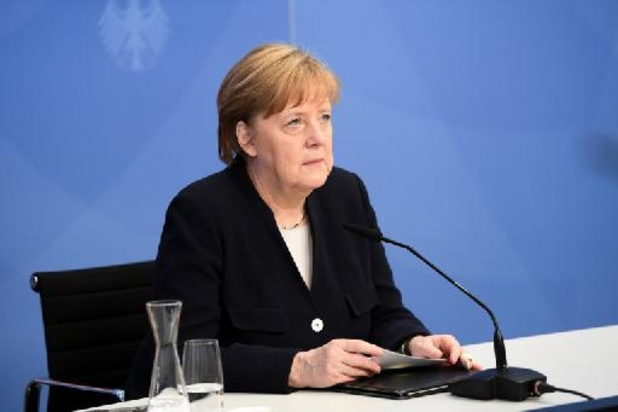 Angela Merkel renouvelle son souhait d'un accord commercial UE/USA