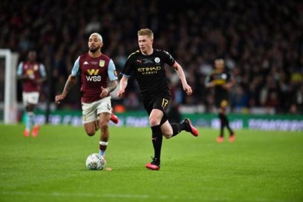 Les Belges à l'étranger - Manchester City remporte une troisième Coupe de la Ligue d'affilée