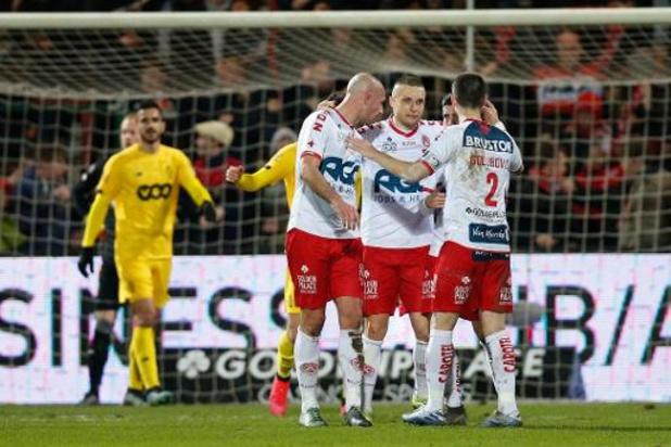 Jupiler Pro League - Standard gaat onderuit in Kortrijk