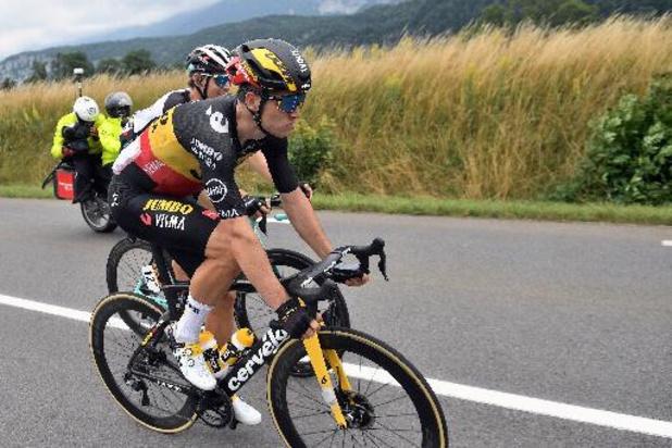 """""""Mark Cavendish était juste plus fort"""", confie Wout van Aert, 2e à Valence"""