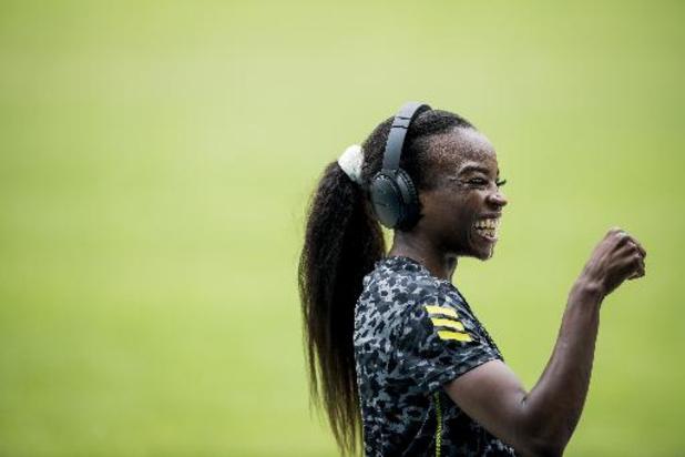 Internationale meeting Nijvel - Cynthia Bolingo duikt onder olympische limiet op 200 meter, Nafi Thiam presteert degelijk