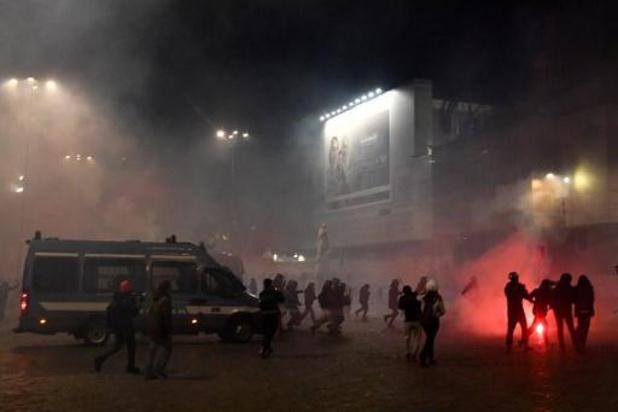 Nouvelles manifestations violentes en Italie