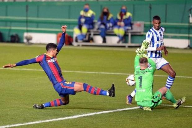Spaanse Supercup - Doelman Ter Stegen helpt Barcelona aan finaleplaats met penaltysaves