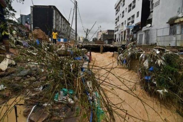 Côte d'Ivoire: cinq morts à Abidjan, après deux jours de pluies diluviennes