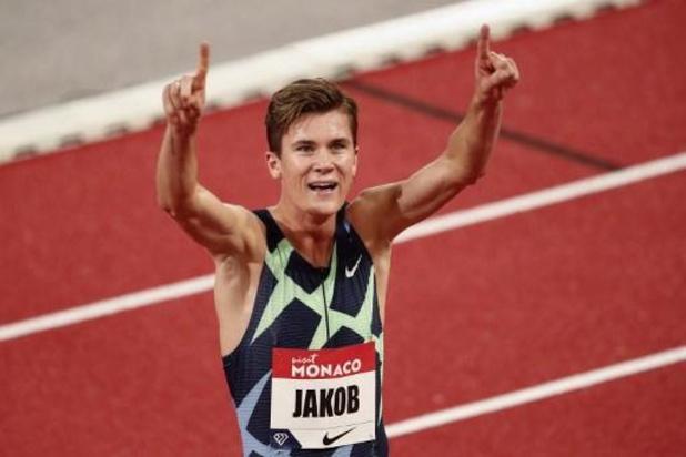 Ligue de diamant - Monaco: Jakob Ingebrigtsen bat le record d'Europe du 1.500 m de Mo Farah