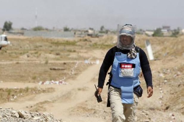Achtergelaten explosieven blijven zorgen voor Iraakse slachtoffers (Handicap International)