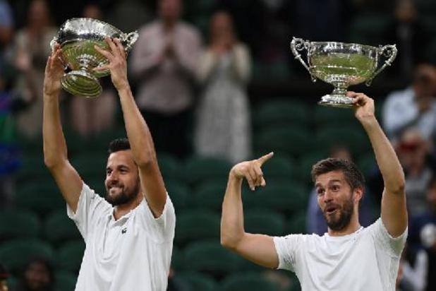 Wimbledon - Les Croates Nikola Mektic et Mate Pavic remportent le double messieurs