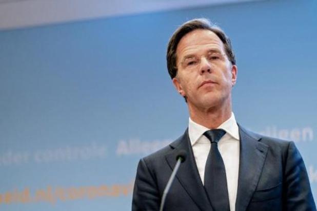 Nederlandse premier Rutte bevestigt heropening basisscholen op 11 mei