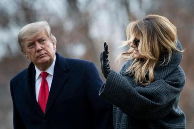 Transitie Biden - First lady Melania Trump neemt alvast afscheid