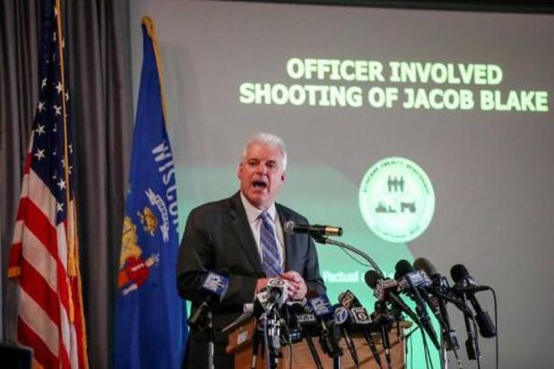 Amerikaanse politieagent niet vervolgd voor neerschieten Jacob Blake