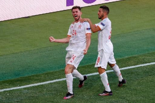 Euro 2020: l'Espagne et la Suède rapprochent la Belgique d'un huitième contre le 3e du groupe F