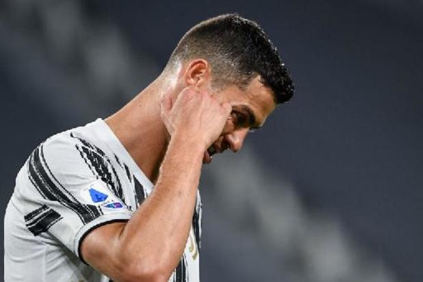 Cristiano Ronaldo onder vuur na nieuwe wanprestatie van Juve