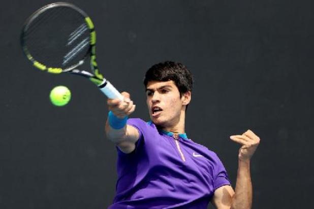 Carlos Alcaraz, 17 ans, bat encore un record de Nadal qu'il va rencontrer au 2e tour à Madrid