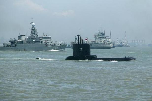 Vermiste duikboot Indonesië ligt mogelijk op 700 meter diepte