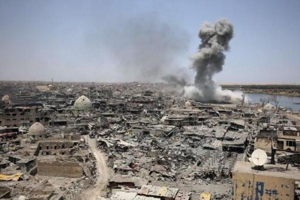 La coalition contre l'État islamique suspend ses opérations militaires en Irak