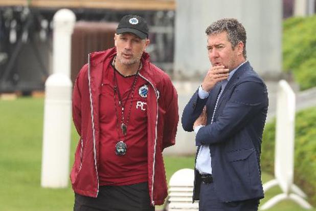 "Jupiler Pro League - Club-manager Mannaert blij dat Clement coach blijft: ""Delen nog steeds dezelfde ambities"""