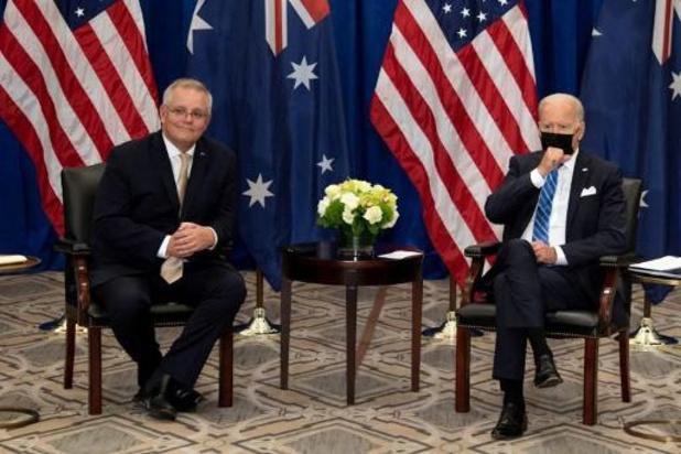Biden et le Premier ministre australien s'emploient à rassurer sur leur nouvelle alliance