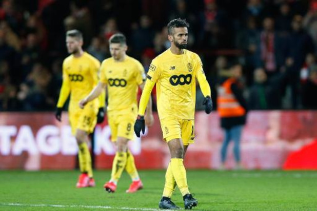 Jupiler Pro League - Le Standard a subi sa première défaite de 2020 à Courtrai