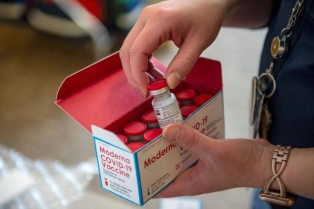 Vaccins van Moderna vanaf vandaag verdeeld in Europa