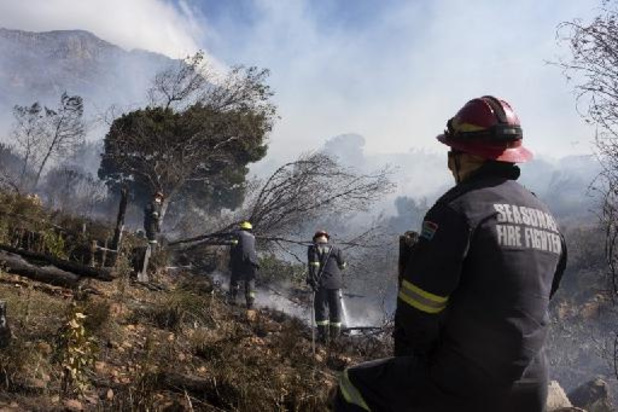 Brand op Tafelberg in Kaapstad onder controle