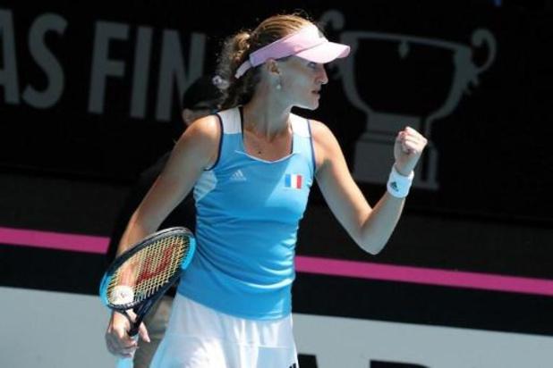 Fed Cup - Mladenovic renverse Barty, N.1 mondiale, la France mène 2-1 en finale face à l'Australie