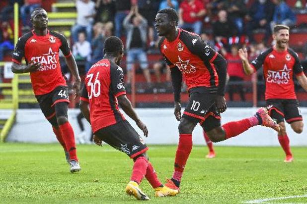 Seraing s'impose face à Malines, OH Louvain gagne au Cercle de Bruges