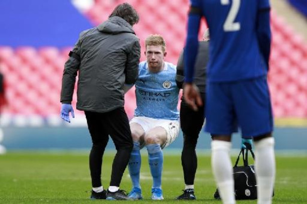 """Les Belges à l'étranger - La blessure de De Bruyne, """"ça ne semble pas bon"""", craint Guardiola"""