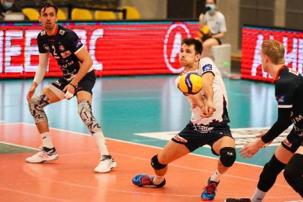 Euromillions Volley League - Roulers écrase Maaseik et est à une victoire du titre
