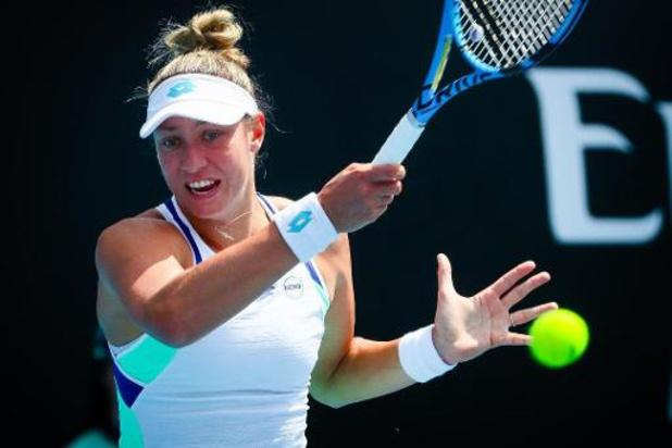 Wickmayer en Bonaventure sneuvelen in eerste kwalificatieronde WTA Praag