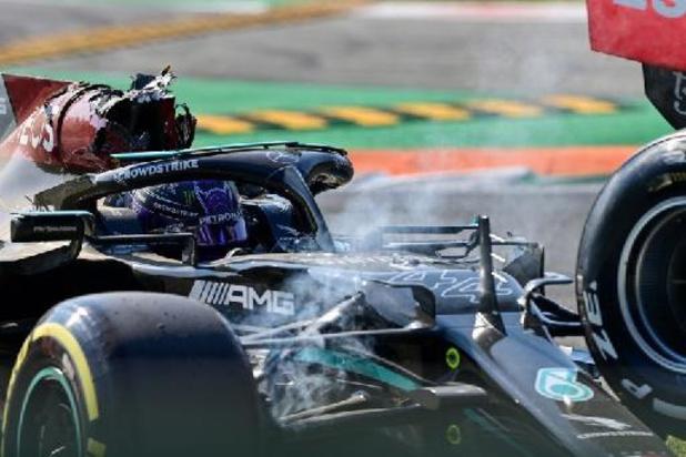 F1 - GP van Italië - Lewis Hamilton is dankbaar voor toegenomen veiligheid Formule 1