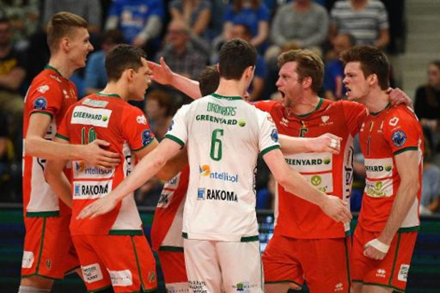 EuroMillions Volley League - Leider Maaseik wint vlot in Gent