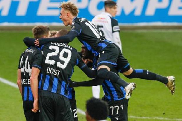 Le Club Bruges vient à bout de Genk (3-2) au terme d'un choc spectaculaire et s'envole