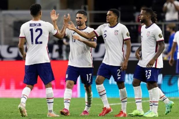 Etats-Unis et Canada qualifiés pour les demi-finales de la Gold Cup