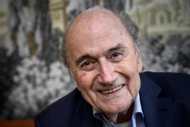 FIFA-schandaal - Eén van twee strafonderzoeken naar voormalig FIFA-preses Blatter zonder gevolg afgesloten