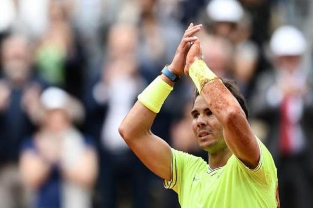 """Coronavirus - Rafael Nadal: """"Rien ne remplace la présence du public"""""""