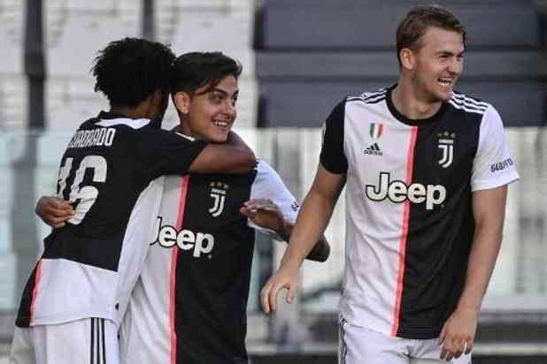 La Juventus enlève le 36e titre de champion d'Italie de son histoire, le 9e consécutif