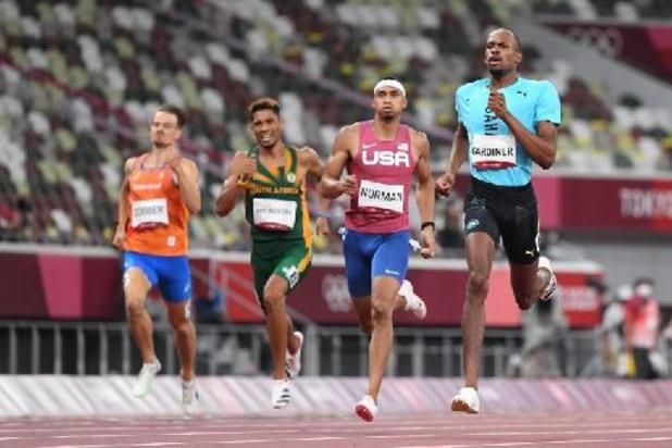 Le Bahaméen Steven Gardiner champion olympique du 400m