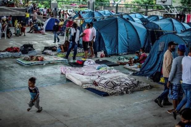 Plus de 13.000 personnes ont dû fuir la violence en Colombie