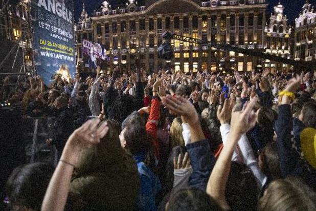 La Fédération Wallonie-Bruxelles en fête le 24 septembre sur la Grand-Place de Bruxelles