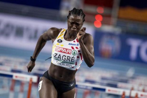 Geen finale voor Anne Zagré op 60m horden