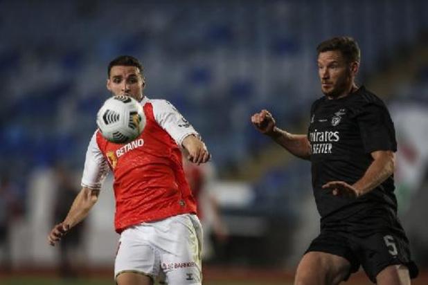 Les Belges à l'étranger - Benfica et Jan Vertonghen s'inclinent en finale de la coupe du Portugal contre Braga