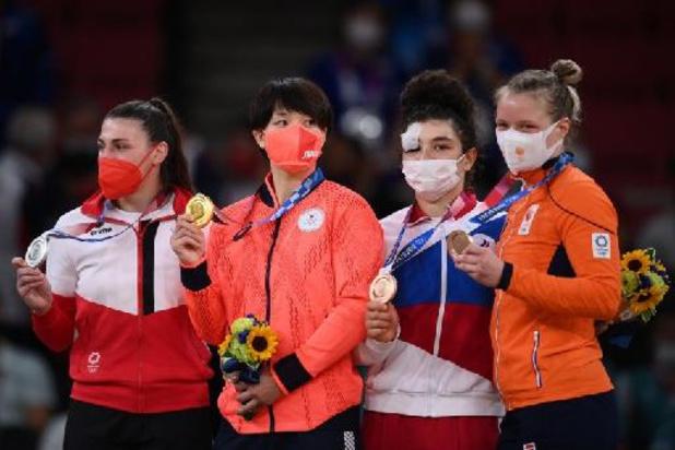 Le bronze du courage pour la Russe Taimazova, 6e médaille d'or en judo pour le Japon