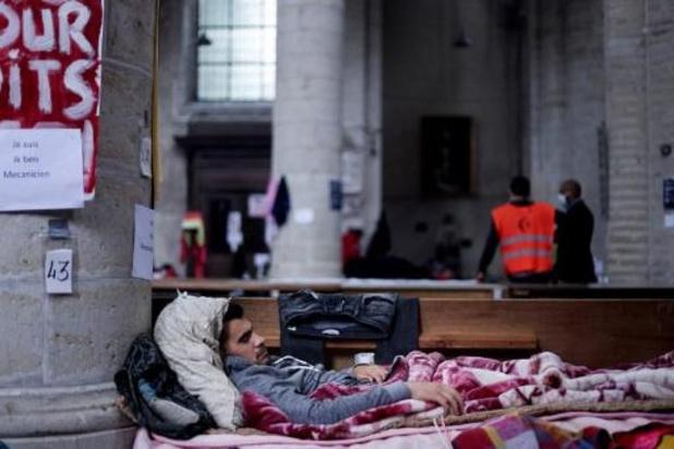 Hongerstaking sans-papiers - Socialistische Brusselse OCMW-voorzitters vragen menselijke en pragmatische aanpak