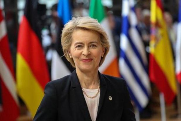 Les Etats membres adoptent la liste des membres de la Commission Von der Leyen